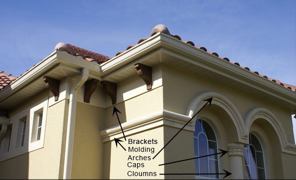 Architectural Foam Trim